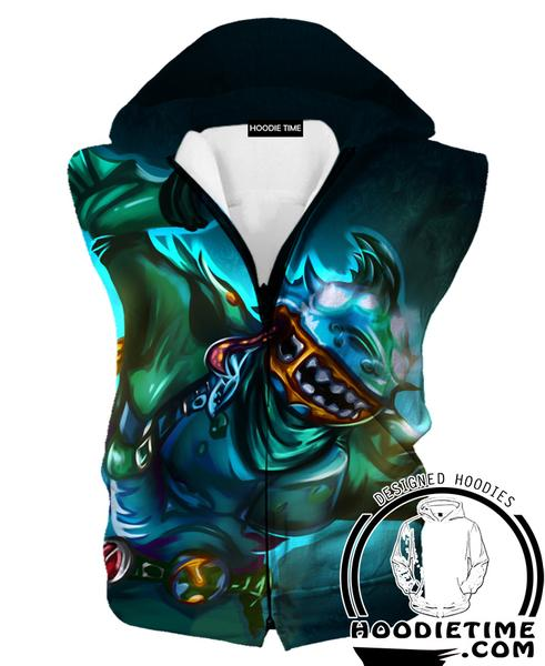 Fortnite Leviathan Hooded Tank - Leviathan Clothing-Hoodie Time - Anime and Gaming Hoodies
