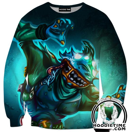 Fortnite Leviathan Sweatshirt - Leviathan Clothing-Hoodie Time - Anime and Gaming Hoodies