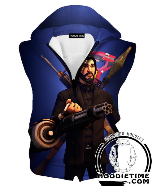 Fortnite Reaper Hooded Tank - Reaper Skin Clothes