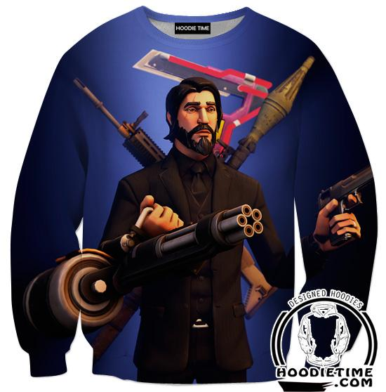 Fortnite Reaper Sweatshirt - Reaper Skin Clothes