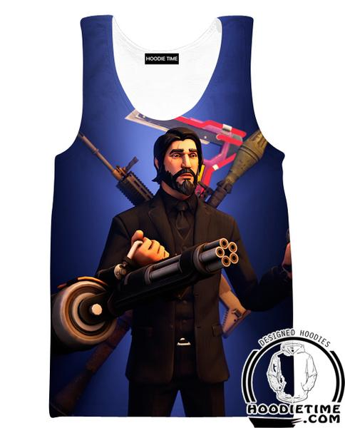 Fortnite Reaper Tank Top - Reaper Skin Clothes