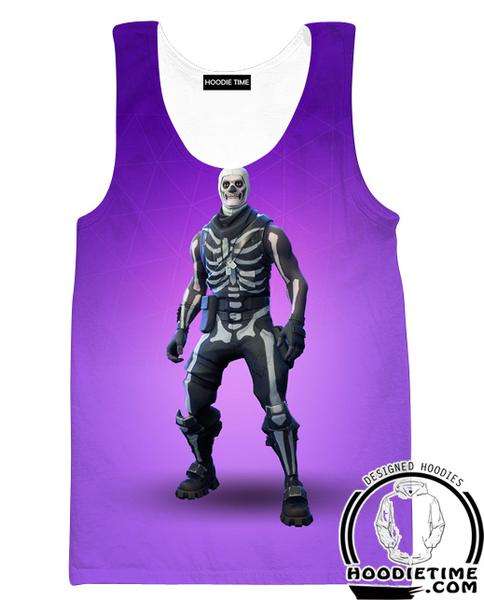 Fortnite Skull Trooper Tank Top - Fortnite Clothing-Hoodie Time - Anime and Gaming Hoodies