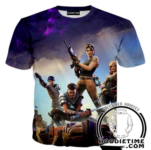 Fortnite T-Shirt - Battle Royal Shirts Gaming Clothing-Hoodie Time - Anime and Gaming Hoodies