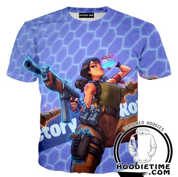 Fortnite Victory Royale T-Shirt - Fortnite Shirts Clothing-Hoodie Time - Anime and Gaming Hoodies