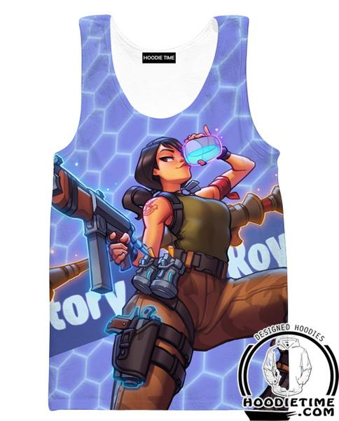 Fortnite Victory Royale Tank Top - Fortnite Gym Shirts Clothing-Hoodie Time - Anime and Gaming Hoodies