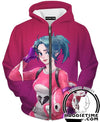 Fortnite Zip Up Hoodie - Fortnite Battle Royale Pink Zip Hoodies Gaming Clothing-Hoodie Time - Anime and Gaming Hoodies
