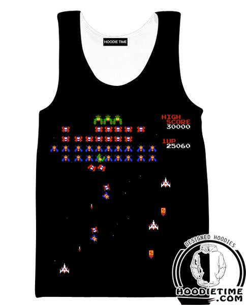 Galactica Tank Top - Classic Gaming Gym Shirts