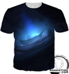 Galaxy Tornado Storm T-Shirt - 360 Printed Clothing-Hoodie Time - Anime and Gaming Hoodies