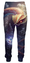 Giant Snake vs Adventurer Dungeons and Dragons Sweatpants - Fantasy Pants - 3D Clothing-Hoodie Time - Anime and Gaming Hoodies