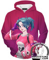 Fortnite Hoodie - Fortnite Battle Royale Pink Pullover Hoodie-Hoodie Time - Anime and Gaming Hoodies