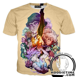 Hunter x Hunter Shirts - Ant Arc T-Shirt- Anime Clothing-Hoodie Time - Anime and Gaming Hoodies