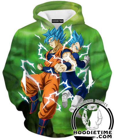 Limit Breaker Goku and Vegeta Hoodie