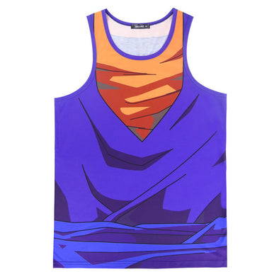 Vegito tank top work out gym shirt