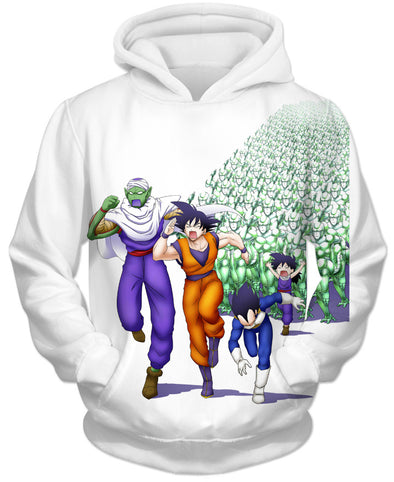 Metal Cooler Hoodie - Funny Dragon Ball Z Meme Clothing Hoodies-Hoodie Time - Anime and Gaming Hoodies