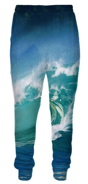 Ocean Surfing Sweatpants - 3D Pants and Clothing-Hoodie Time - Anime and Gaming Hoodies
