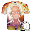 One Punch Man Shirts - Excited Saitama T-Shirt - Anime Clothing-Hoodie Time - Anime and Gaming Hoodies
