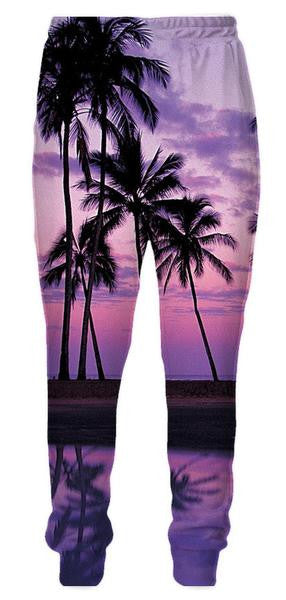 Palm Beach Sweatpants - 3D Pants and Clothing-Hoodie Time - Anime and Gaming Hoodies