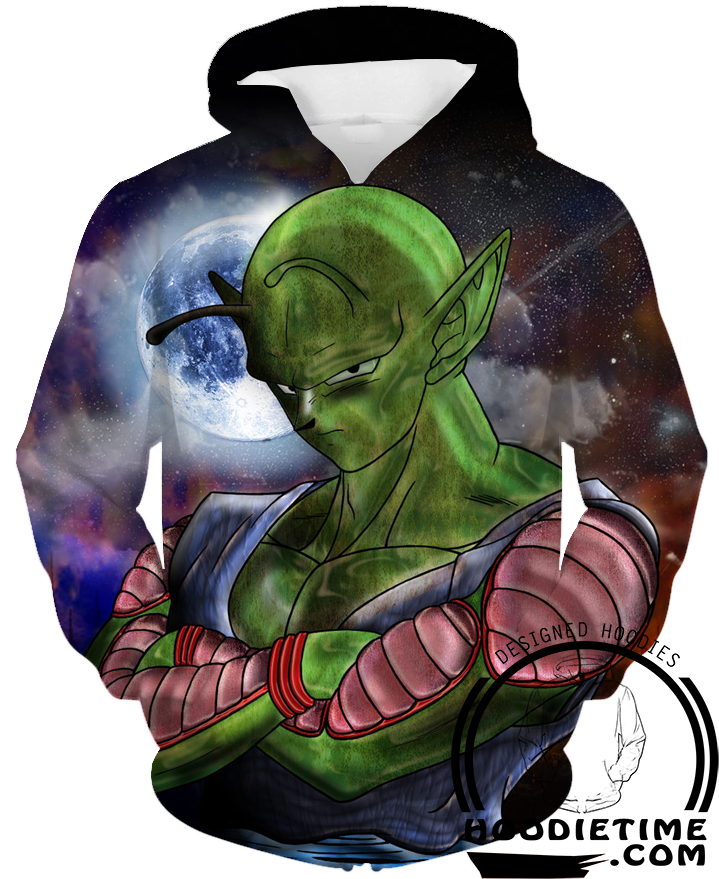 Dragon Ball Z - Piccolo Hoodie - Pullover 3D Hoodie-Hoodie Time - Anime and Gaming Hoodies