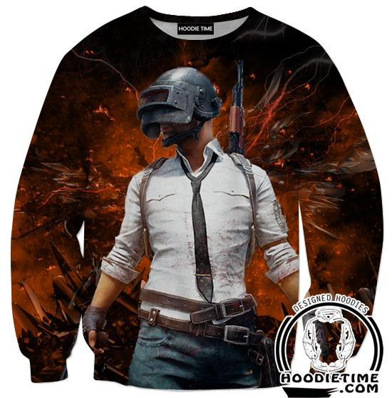 PubG Sweatshirt - Battleground Sweaters - Video Game Clothes