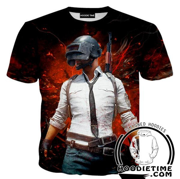 PubG T-Shirt - Battleground Shirts - Video Game Clothes