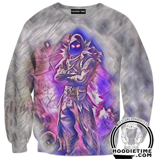 Raven Clothes - Fortnite Raven Sweatshirt-Hoodie Time - Anime and Gaming Hoodies