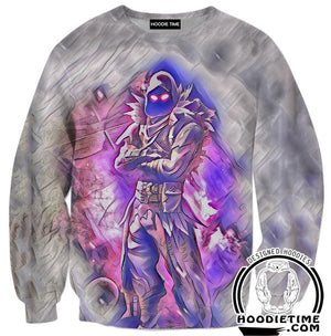 Raven Clothes - Fortnite Raven Hoodie-Hoodie Time - Anime and Gaming Hoodies