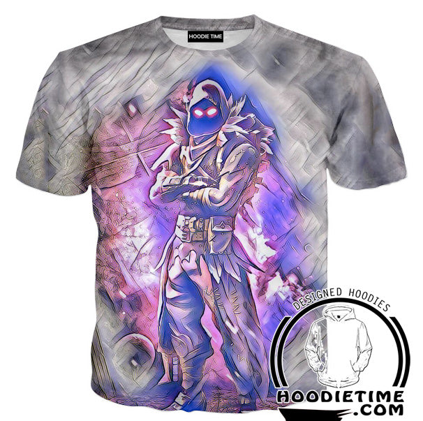 Raven Clothes - Fortnite Raven T-Shirt-Hoodie Time - Anime and Gaming Hoodies