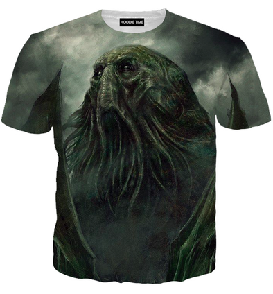 Cthulhu 360 T-Shirt shirts clothing