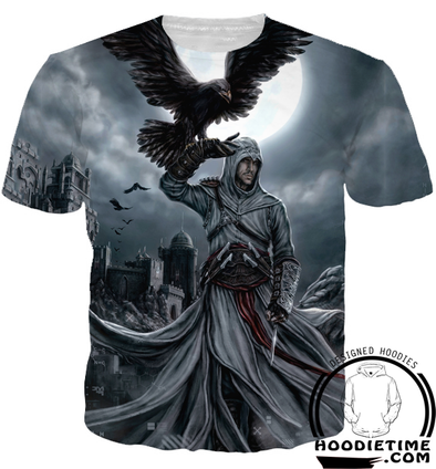 assassins creed t-shirt clothes desmond raven shirts