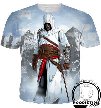 Assassins Creed Hoodies - Desmond Ezio Hoodie - 3D Clothing-Hoodie Time - Anime and Gaming Hoodies