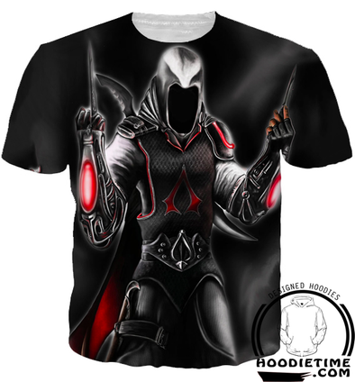 Assassins Creed Hoodies - Bad Ass Dagger Hoodie - 3D Clothing-Hoodie Time - Anime and Gaming Hoodies