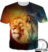 galaxy lion shirt cool 3d shirt