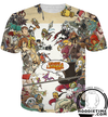 League of legend all champion t-shirt clothing clothes