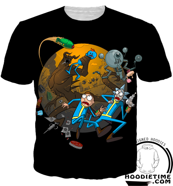 rick and morty adventure t-shirt teeshirt clothes