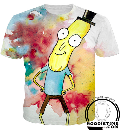 Mr. Poopy Butthole t-shirt clothes clothing rick and morty