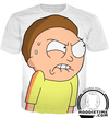 Rick and Morty Hoodies - Angry Morty Hoodie - 3D Pullover Clothing-Hoodie Time - Anime and Gaming Hoodies