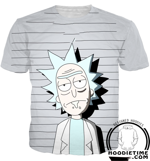 Free Rick T-Shirt rick and morty clothing teeshirt