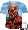 attack on titan t-shirt shirts clothing clothes jacket anime