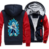 Dragon Ball Z Fleece Jacket - Super Saiyan Blue Vegito Jacket - Vegetto-Hoodie Time - Anime and Gaming Hoodies