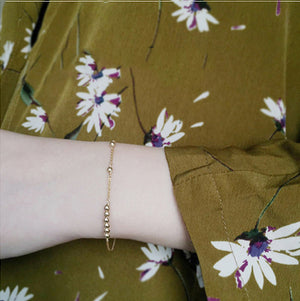 daily wearing, gold bracelet, gold jewelry