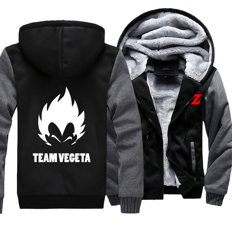 Dragon Ball Z Black Jacket Vegeta