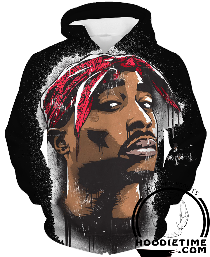 tupac face hoodie 2pac black 3d pullover clothing hip. Black Bedroom Furniture Sets. Home Design Ideas