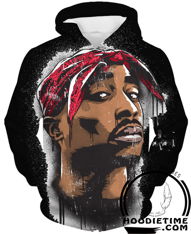 2pac black hoodie - tupac black hoodies 3d clothing