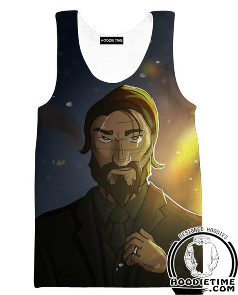The Reaper Fortnite Tank Top - Reaper Skin Gym Shirts and Clothing