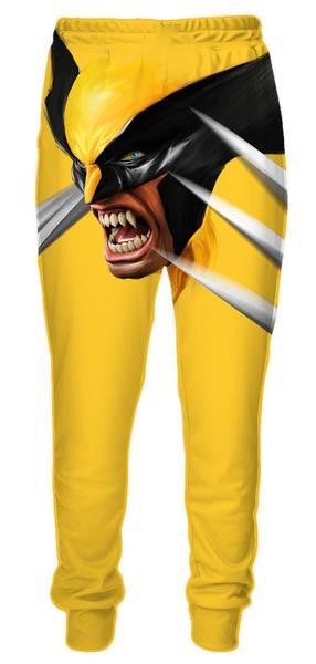 X-Men Logan Wolverine Sweatpants - Superhero Pants - 3D Clothing-Hoodie Time - Anime and Gaming Hoodies