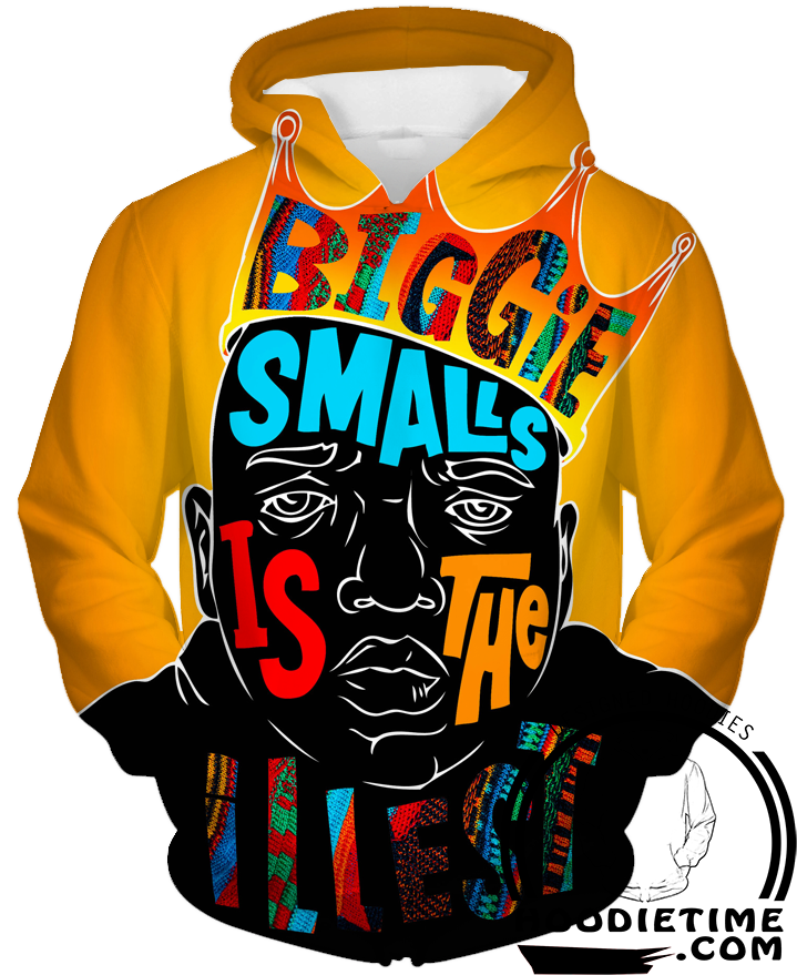 biggie smalls illest hoodie 3d clothing