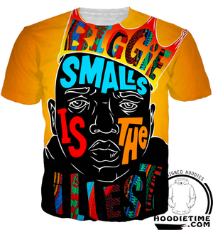 biggie smalls t-shirt 3d clothing cool hip-hop rap lil wayne