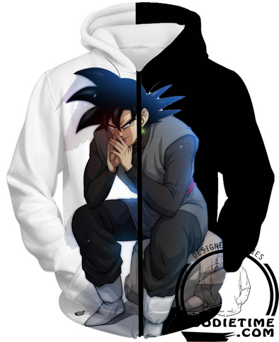 Goku Black Hoodie Dragon ball z hoodies super