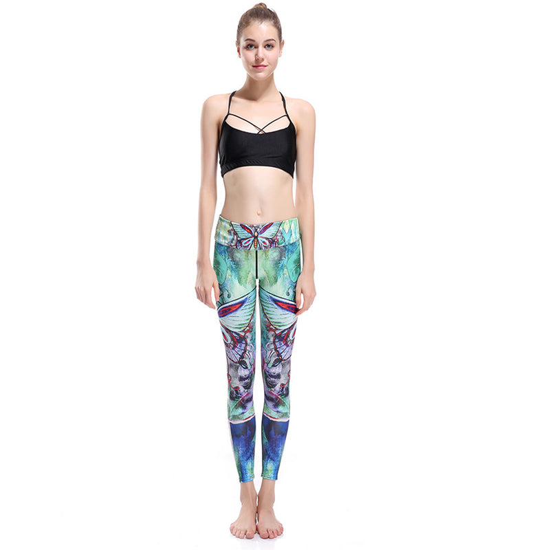 butterfly yoga pants