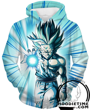 super saiyan ssj2 gohan hoodie - dragon ball z hoodies
